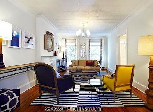 Thi công nội thất gỗ: Trang trí nhà từ đơn giản đến cá tính với gam màu vàng-5