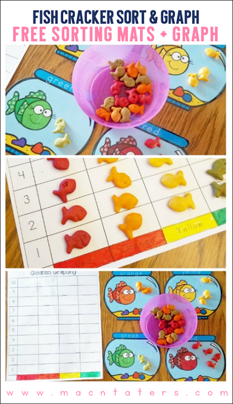 Fish Cracker Sort & Graph