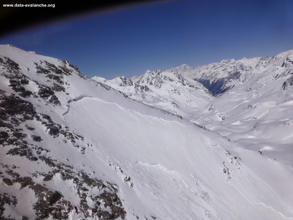 Avalanche Vanoise, secteur Col de Chavière - Photo 1