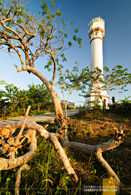 Beautiful Light at Cape Bolinao Lighthouse in Pangasinan