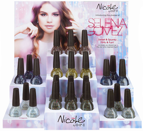 Nicole by OPI Selena Gomez Collection for Spring 2013