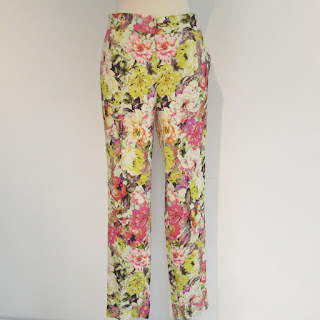 Etro Floral Trousers