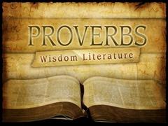 Proverbs wisdom literature