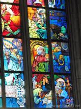 Photo: St Vitus lasimaalauksia