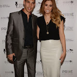 OIC - ENTSIMAGES.COM - Warren Askew and Stacey Solomon  at the Stacey Solomon: Walk On By - book launch party London 18th February 2015  Photo Mobis Photos/OIC 0203 174 1069