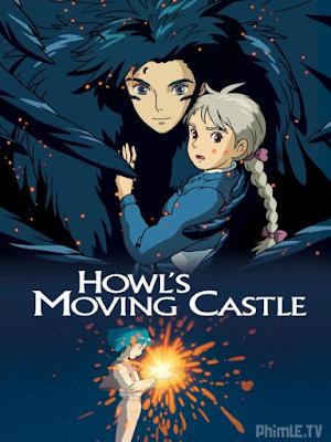 Phim Lâu đài di động của Howl - Howl Moving Castle (hauru No Ugoku Shiro) (2004)