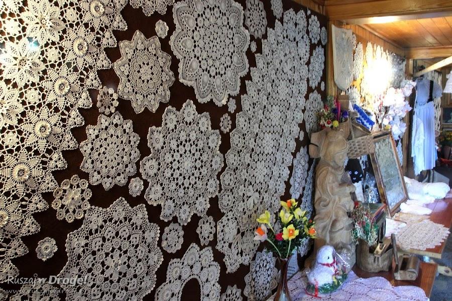 Koniakowskie koronki - izba pamięci Marii Gwarek