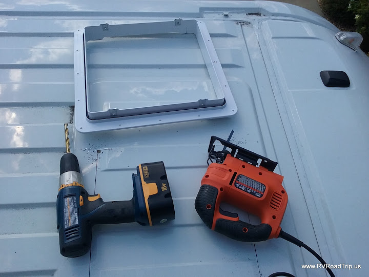Roof Vent Installation