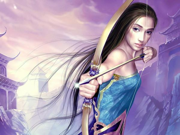 Purple Archer Girl, Warriors