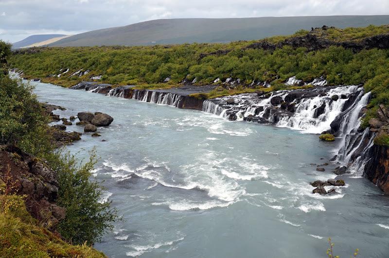 DSC05047 - Hraunfossar Waterfalls