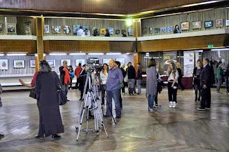 """Photo: XIII Međunarodna izložba """"Žene slikari"""" 2015. Majdanpek  Velika Galerija Centra za kulturu Majdanpek Otvaranje izložbe"""