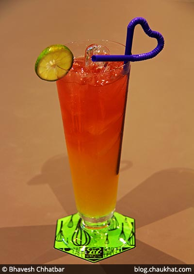 Citrus Tingler Mocktail served at 212 All Day Cafe & Bar at Phoenix Marketcity in Pune
