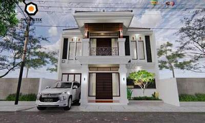desain atap rumah dan teras atap rumah terkini