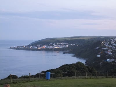 Looe from Bay View Campsite