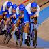 Italia con Filippo Ganna al comando, bate el récord mundial y se lleva el ORO en la persecución por equipos en Tokio 2020