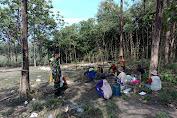 Meski libur Babinsa Srawung Koramil Gesi Sempatkan Sambangi Desa Binaan