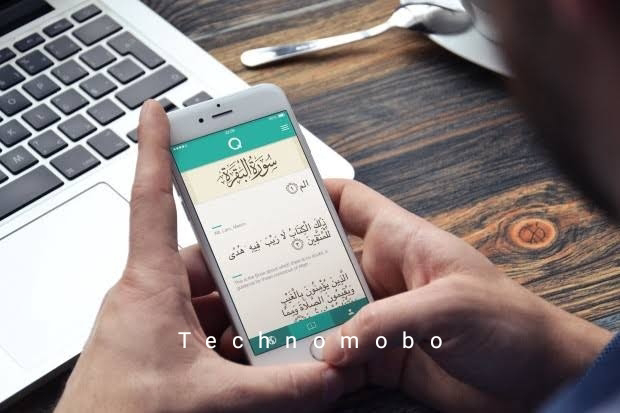 download now A beautiful Quran application for Androidi