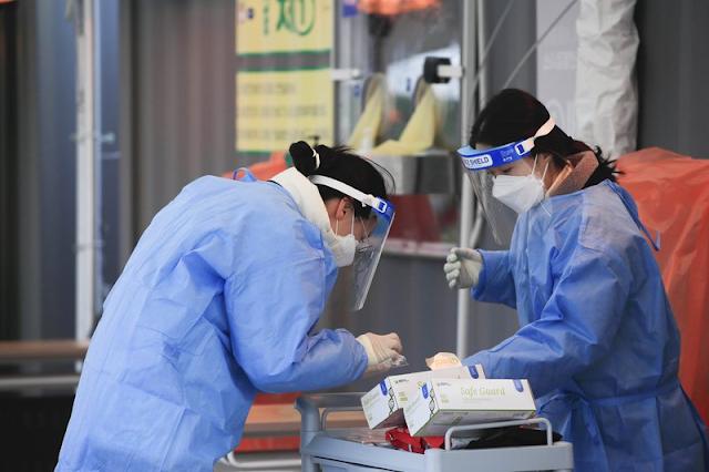 Travel International News Pandemics AP Top News Coronavirus vaccine Air travel Health South Korea Middle East Seoul Coronavirus pandemic Africa Travel Asia Pacific Europe United Kingdom The Latest: S. Korea confirms first COVID-19 variant cases