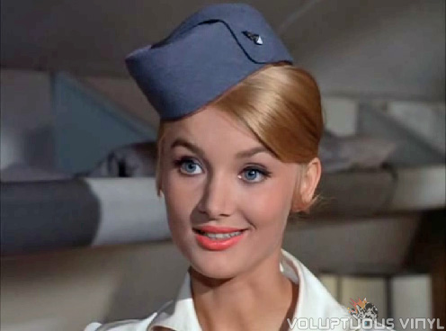 Lovely Barbara Bouchet in Irwin Allen's Voyage to the Bottom of the Sea