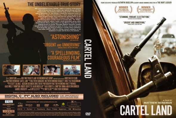 Cartel Land – Latino, Inglés – DVD9