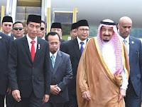 Satu Kata Buat Pa Jokowi : Kami Berduka Cita dengan Sikap Anda Ikutkan Penista Agama Sambut Raja Salman