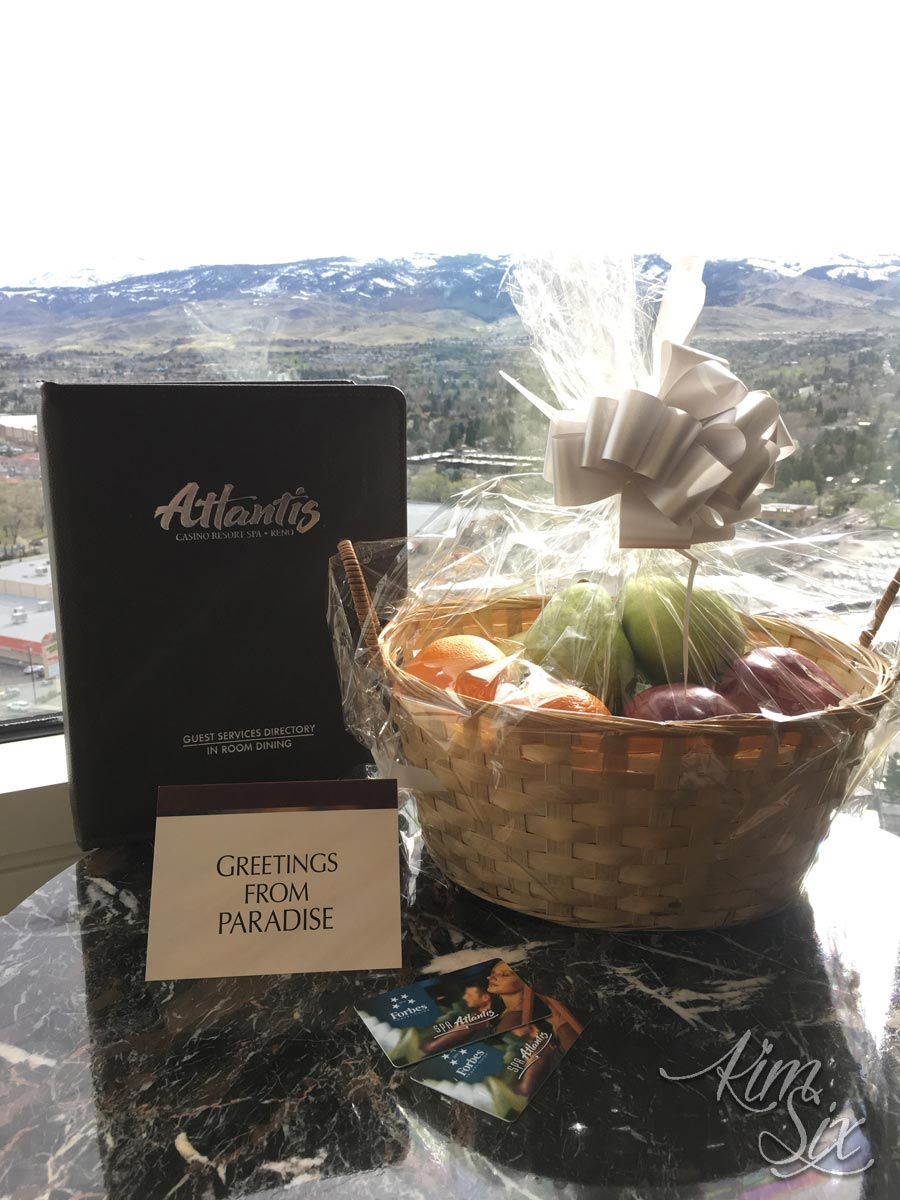 Welcome to reno gift basket