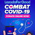 "Lazada ประเทศไทย เปิดตัว ""LazadaForGood ให้ทุกใจได้ทำดี""พร้อมมอบเงินบริจาครวม 3 ล้านบาทแก่โรงพยาบาล"