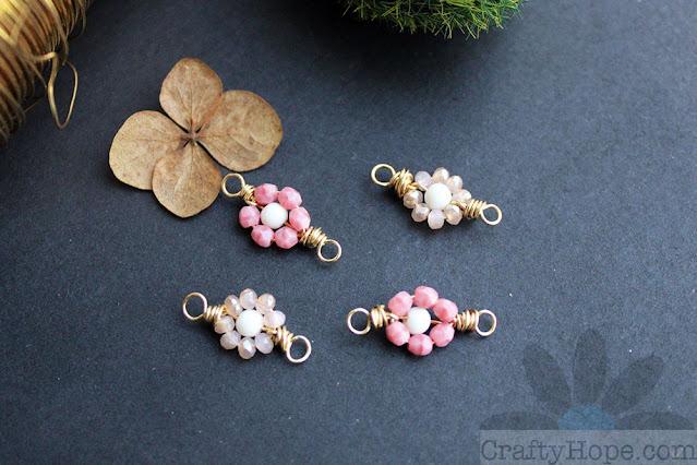 Beads & Wire Flower Tutorial | CraftyHope
