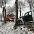 Schwanenberg: Unfall - PKW an Baum