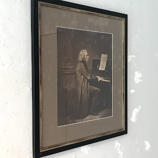 Franz Liszt Photograph Portrait