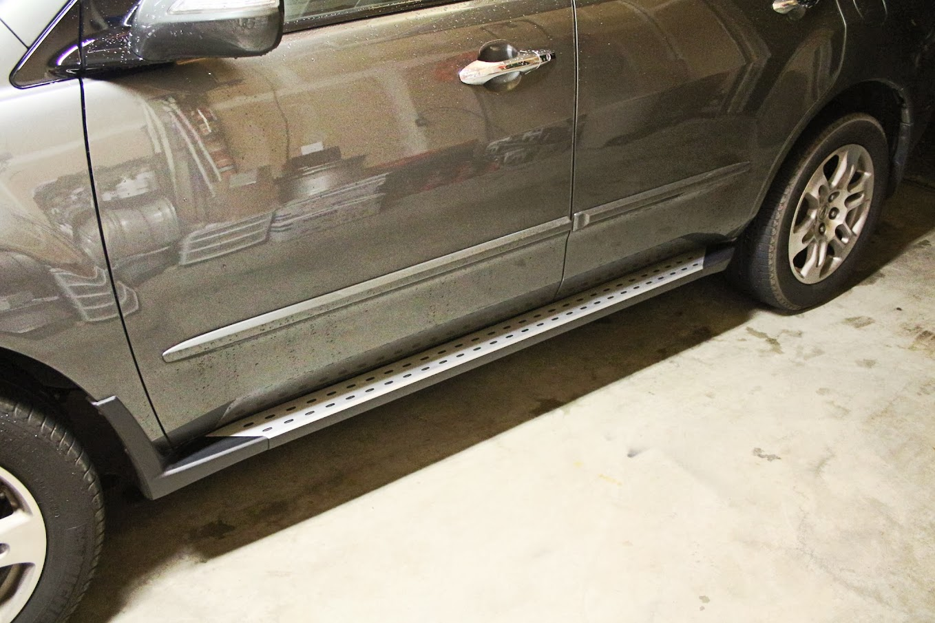 How I Fixed The Corrosion On My Sport Running Boards Acura Mdx Forum Acura Mdx Suv Forums