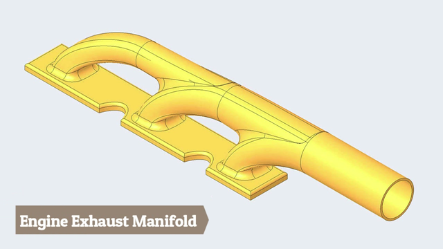 Engine Exhaust Manifold-Creo (Time 0_00_07;03)