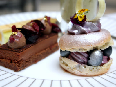 Afternoon tea at the Corinthia Hotel in London