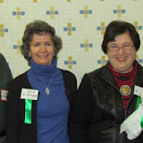 2014 long time volunteers honored. L to R: Dave Bradbury, Gina Gregory, Linda Kidd and Betty Bradbury, over 30 years volunteering!