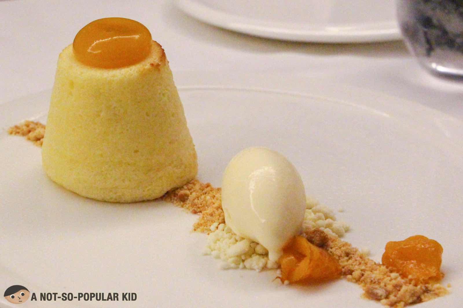 Lemon Curd Dessert of FOO'D by Davide Oldani