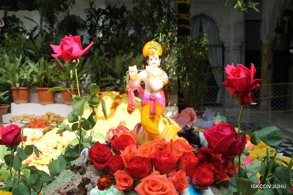 Govardhan Annakut Darshan  At ISKCON Juhu on 31st Oct 2016 (29)