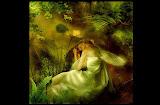 Sleeping Green Fairy