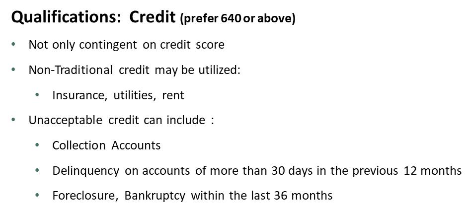 Kentucky USDA Rural Housing  Single Family Housing Guaranteed Loan Program