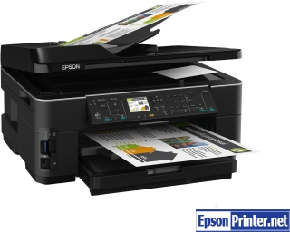 How to reset Epson WorkForce WF-7515 with application
