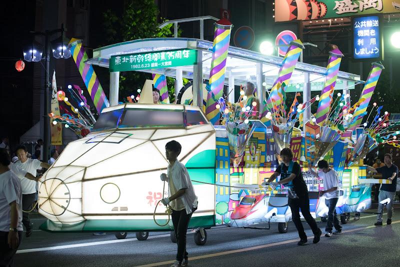 170804 盛岡さんさ踊り200系新幹線