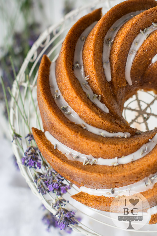 Lavender & Lemon Bundt Cake