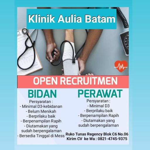 Dibutuhkan Perawat dan Bidan Klinik Aulia Batam
