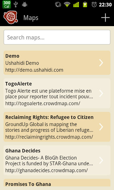 Maps Listing