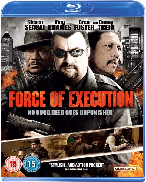 Filme Poster Force of Execution HDRip XviD & RMVB Legendado