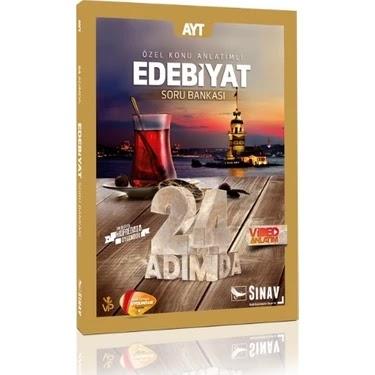 Sınav Yayınları - AYT Edebiyat - 24 Adımda Soru Bankası