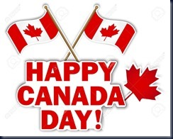 Canada-Day-stickers-with-maple-leaf-and-flags-illustration-Stock-Vector