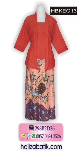 model batik terbaru, batik wanita, model baju terkini