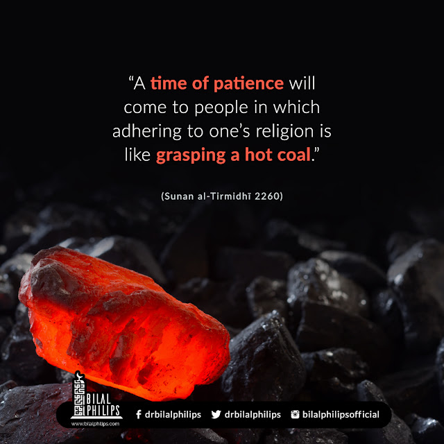 A time of patience will come to people in which adhering to