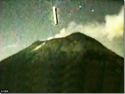 Ufo and volcanoes