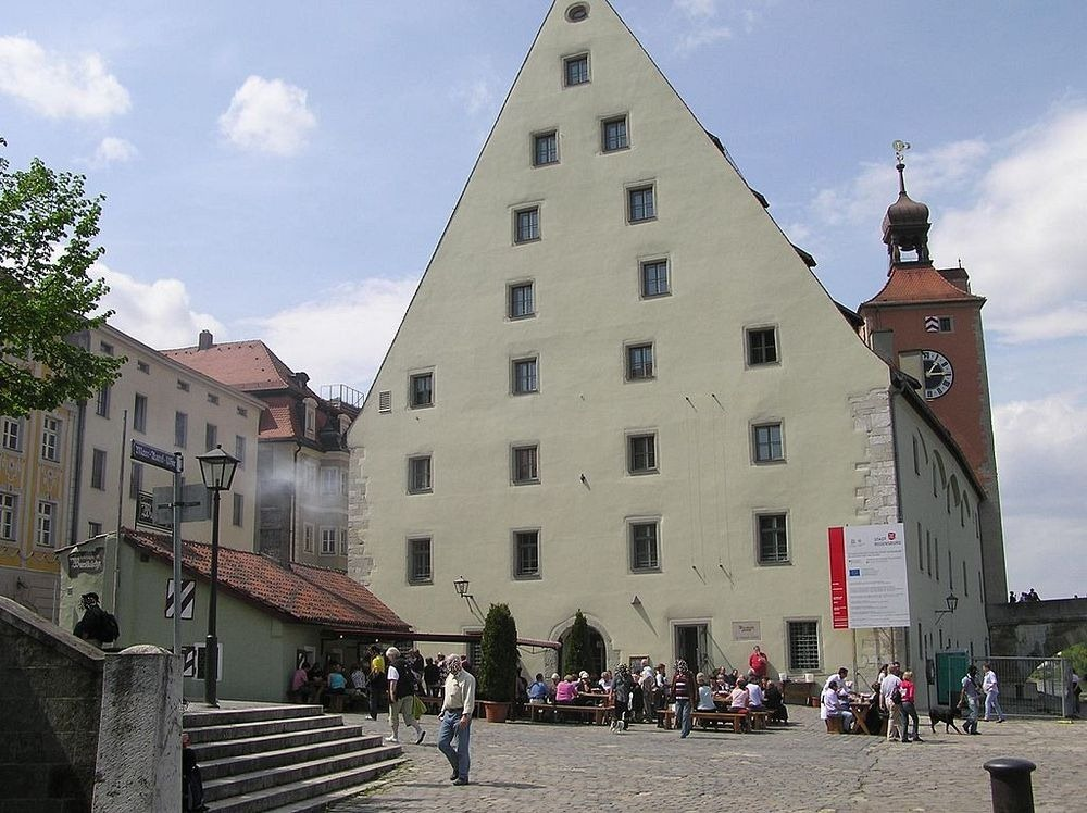 The 870 Year Old Historic Sausage Kitchen Of Regensburg